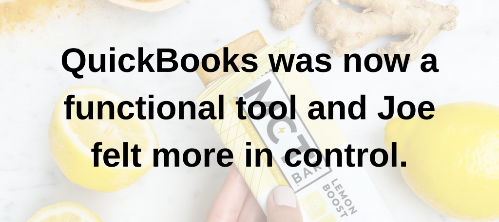 QuickBooks was a functional tool